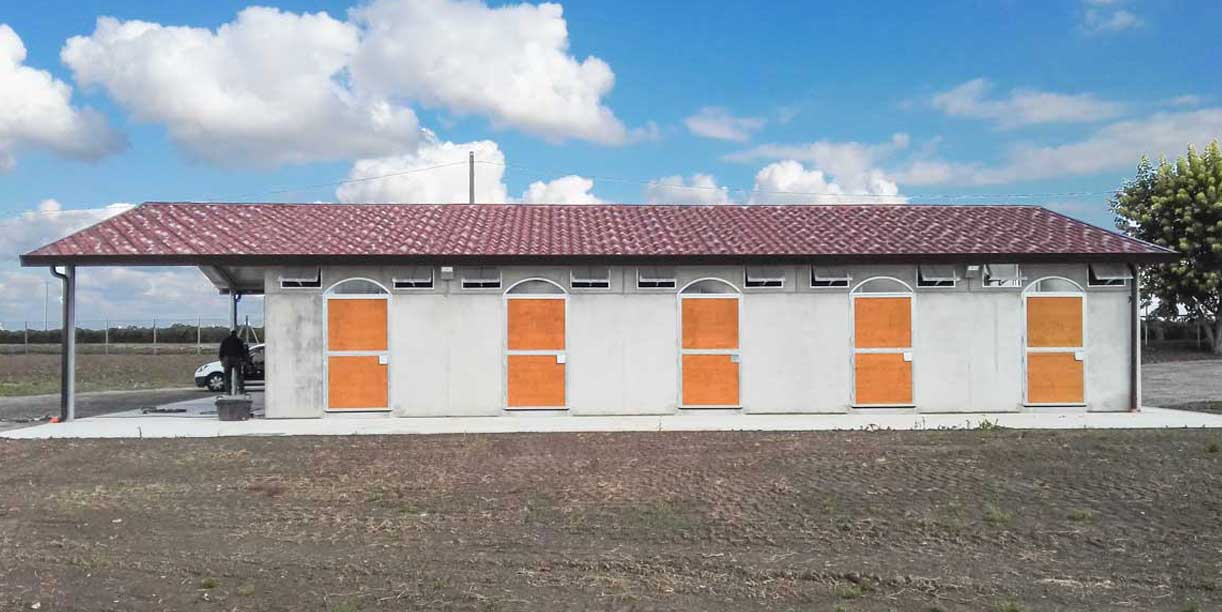 Box cavalli in calcestruzzo equisy modulari no for Box cavalli prefabbricati