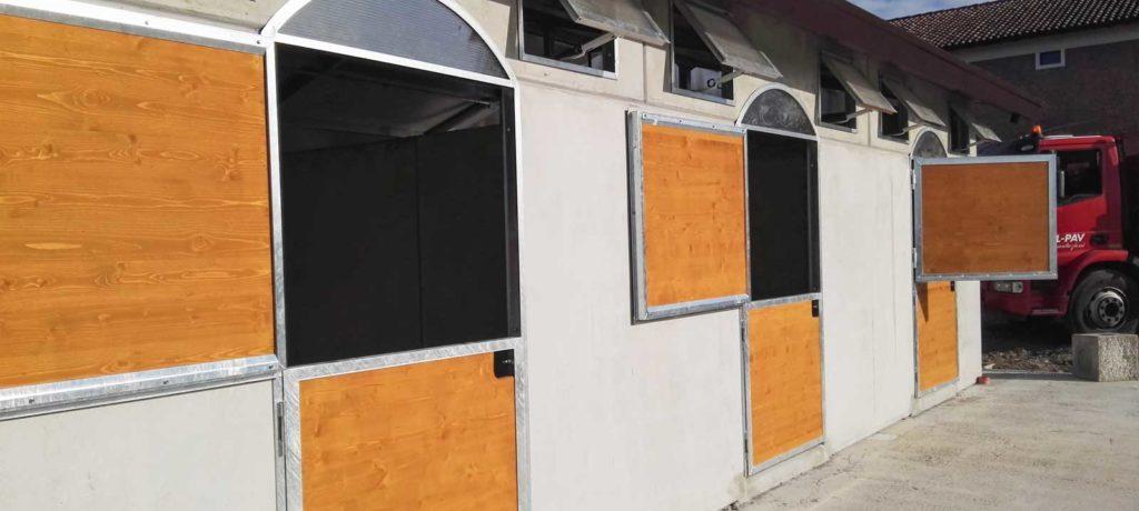 Box per cavalli installazione